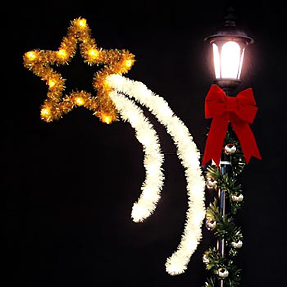 low level decorations - Christmas Pole Decorations