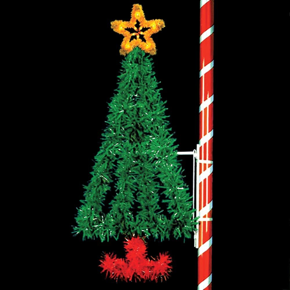 traditional christmas decorations - Christmas Pole Decorations