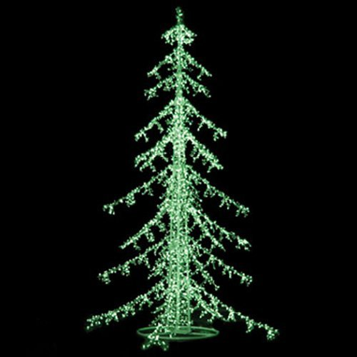 LED Ice Commercial Christmas Trees