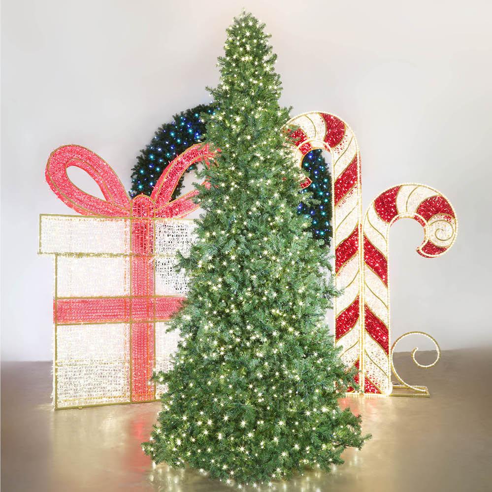 Majestic Slim Tower Christmas Tree