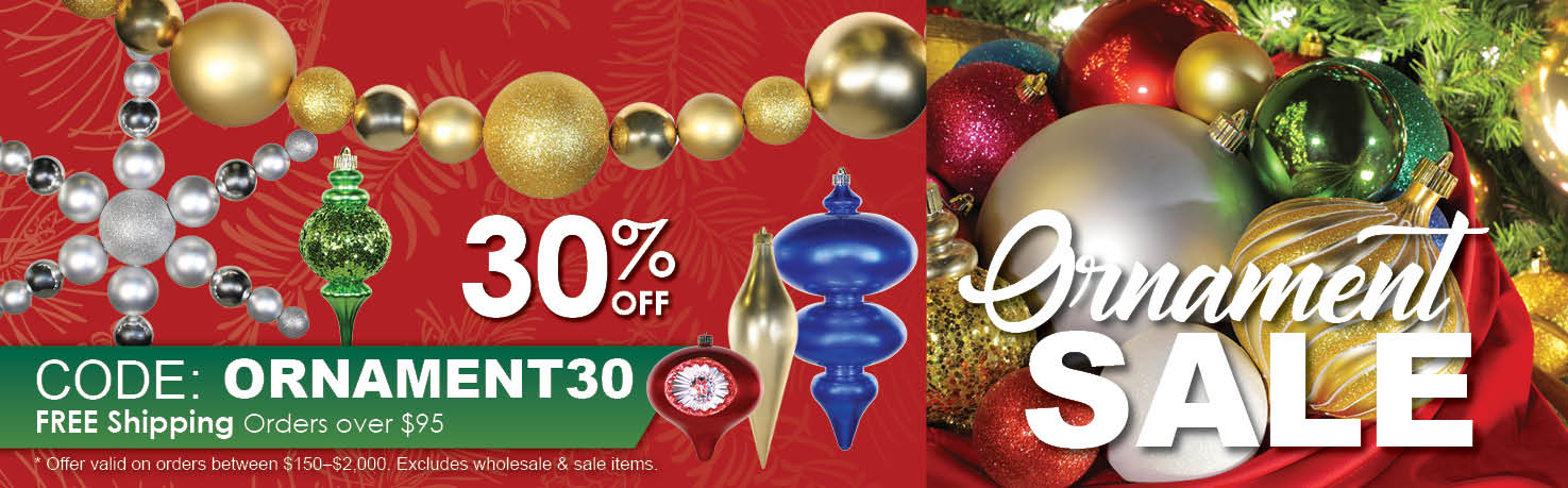 Commercial Christmas Ornaments