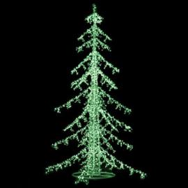 LED Ice Christmas Trees