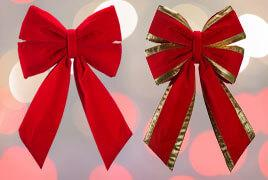Commercial Christmas Bows