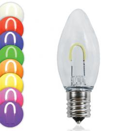 C9 LED Flexible Filament Bulbs
