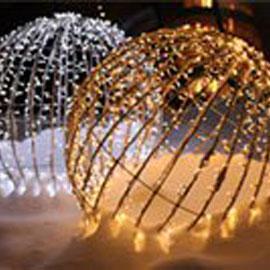 LED Foldable Spheres