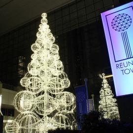 Grand Illuminated Sculpture Tree