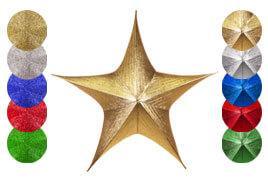 Foldable 3D Stars