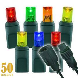 50 Light Coaxial Connect 5mm Wide Angle Conical