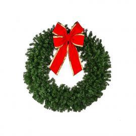 Unlit Christmas Wreaths