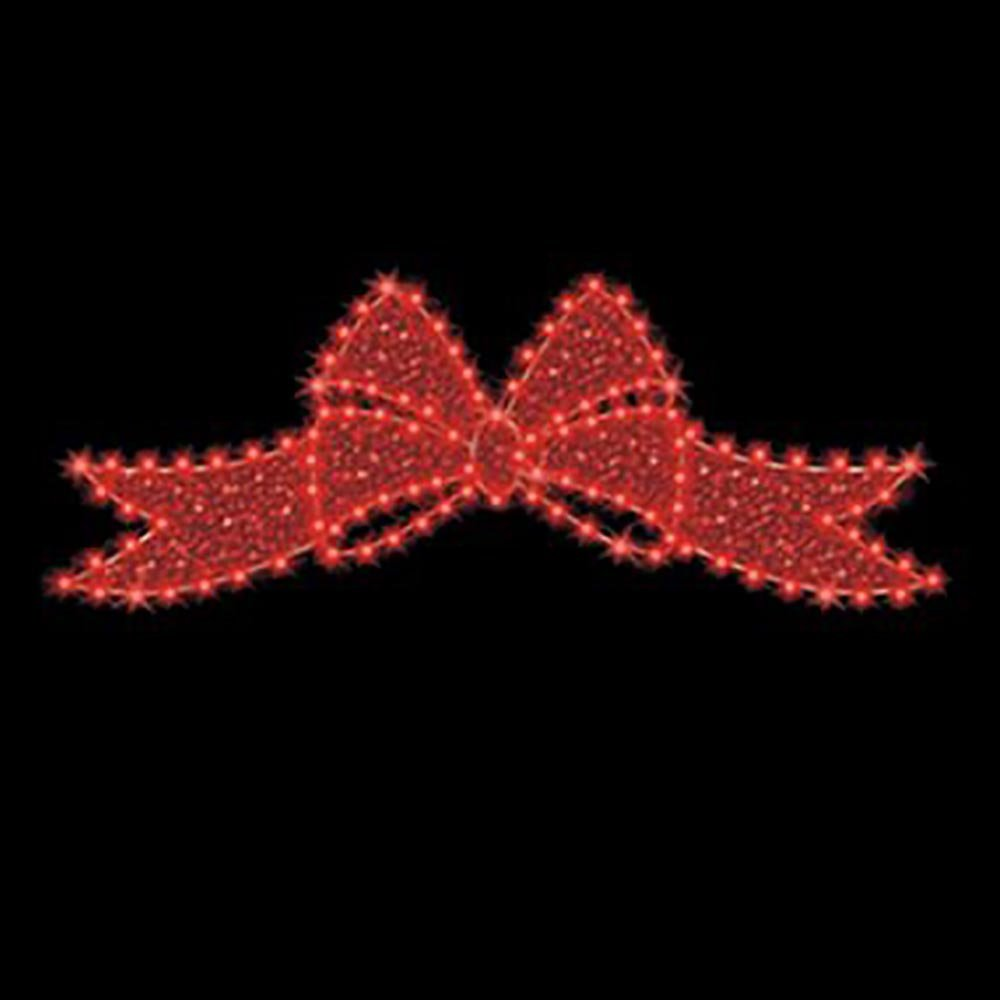 christmas bows - Lighted Christmas Signs