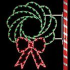5' Wreath, LED