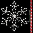 5' Silhouette Sierra Snowflake, LED