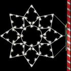 5' Silhouette Alaskan Snowflake, LED