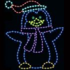 8' Penguin Dad, LED