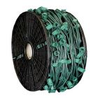 "C7 Cord, 9"" Spacing, Green Wire, SPT-1, 500'"