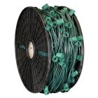"""C9 Cord, 24"""" Spacing, Green Wire, SPT-1, 1000'"""