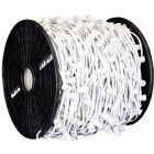 "C9 Cord, 6"" Spacing, White Wire, SPT-1, 1000'"