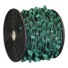 "C9 Cord, 9"" Spacing, Green Wire, SPT-1, 1000'"