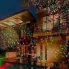 Red/Green Garden Light w/Wireless Remote Control - Option 1 - Laser Light Show