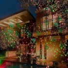 Red/Green Garden Light w/Wireless Remote Control - Option 2 - Laser Light Show