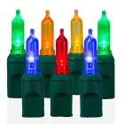 70 Light T5 Smooth Multi LED Christmas Lights
