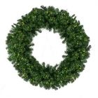 "120"" Deluxe Oregon Fir Wreath, Lit"