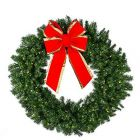 "48"" Deluxe Oregon Fir Wreath Lit"