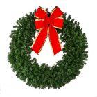 """60"""" Deluxe Oregon Fir Wreath, Unlit"""