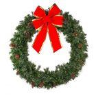 "60"" Mixed Pine Wreath, Unlit"