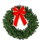 "84"" Deluxe Oregon Fir Wreath Lit"