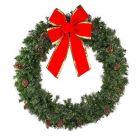 "84"" Mixed Pine Wreath Unlit"