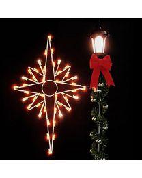 5' Silhouette Bethlehem Star, LED
