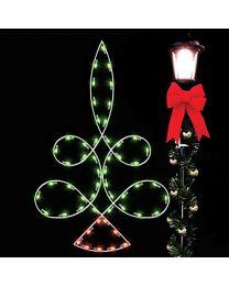 5' Silhouette Loop Tree, LED