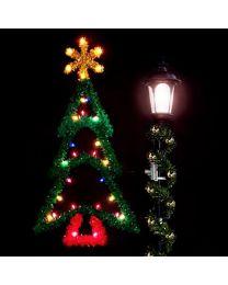 5' Ponderosa Pine Tree, LED