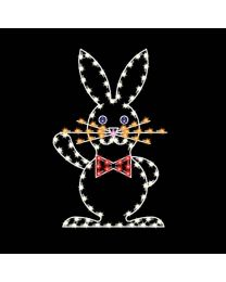 5' Easter Rabbit, LED