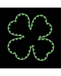 5' Four Leaf Clover, LED