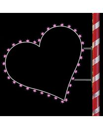 3' Silhouette Heart, LED
