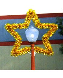 5 1/2' Star Lamp Cover, LED