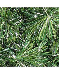 144 2 platinum pine garland