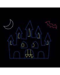 17' x 20' Halloween Castle, LED