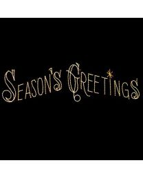 30' Seasons Greetings Skyline, LED