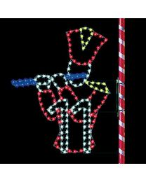 7' Eleven Pipers Piping, LED
