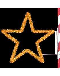 4' Garland Star, LED