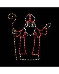 9' Saint Nicholas, LED