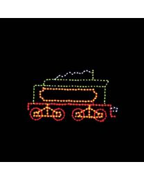 6' Belle of the 80's Coal Car, LED