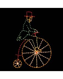 11' Victorian Bicycler, LED