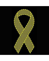 6' Yellow Ribbon with Mesh, LED