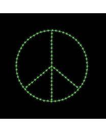 8' Peace Symbol, LED