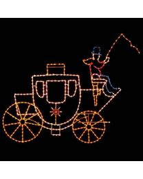 11' Victorian Carriage, LED