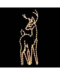 7 1/2' Standing Buck, LED